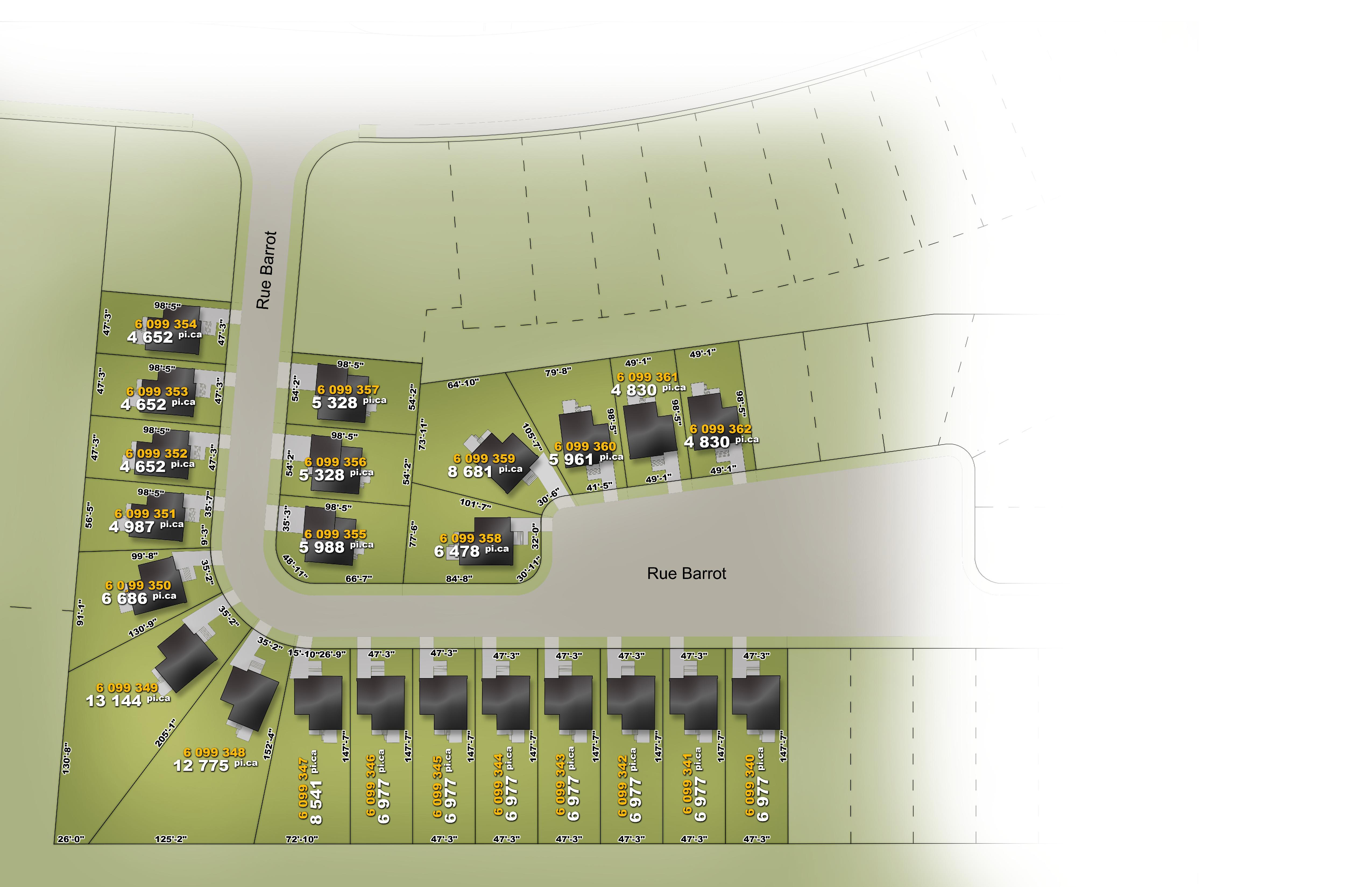 Terrains Mascouche - Maisons neuves et terrains en vente à Carignan