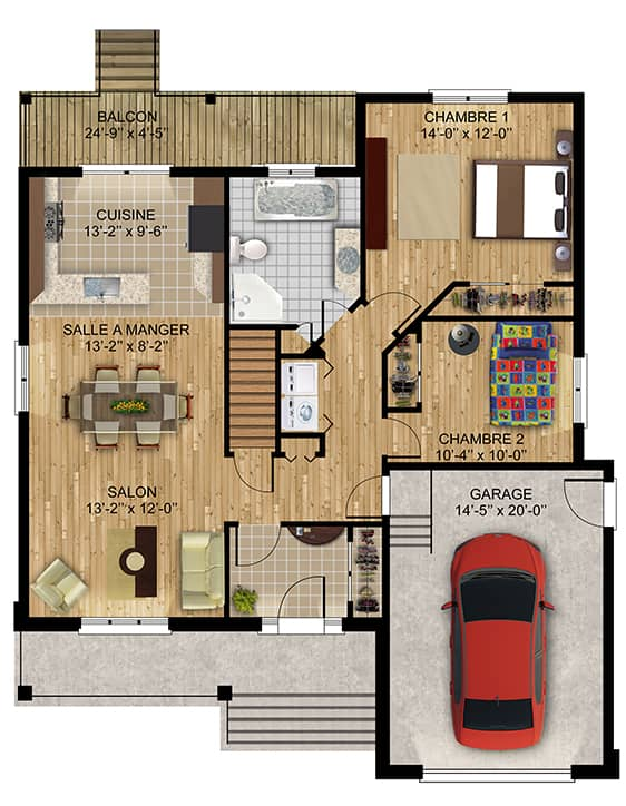 Nos Plans - Maisons écoresponsables neuves à vendre à Terrebonne