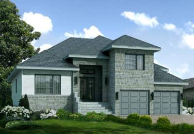 Modèle Europa - Maisons écoresponsables neuves à vendre à Terrebonne