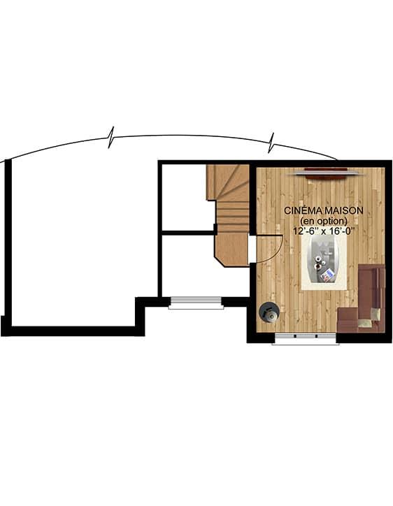 Modèle Europa - Nos Plans - Maisons de ville neuves en vente à Terrebonne