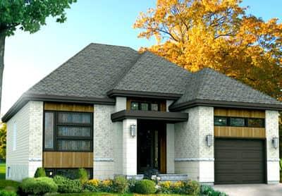 Modèle Izumi - Rheault - Maisons neuves en vente à Terrebonne