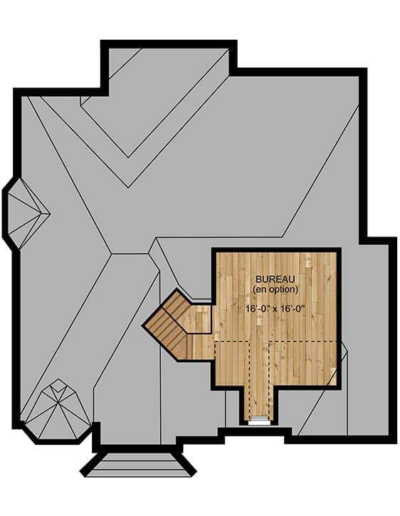 Modèle Manoir - Nos Plans - Maisons écoresponsables neuves en vente à Lanaudière