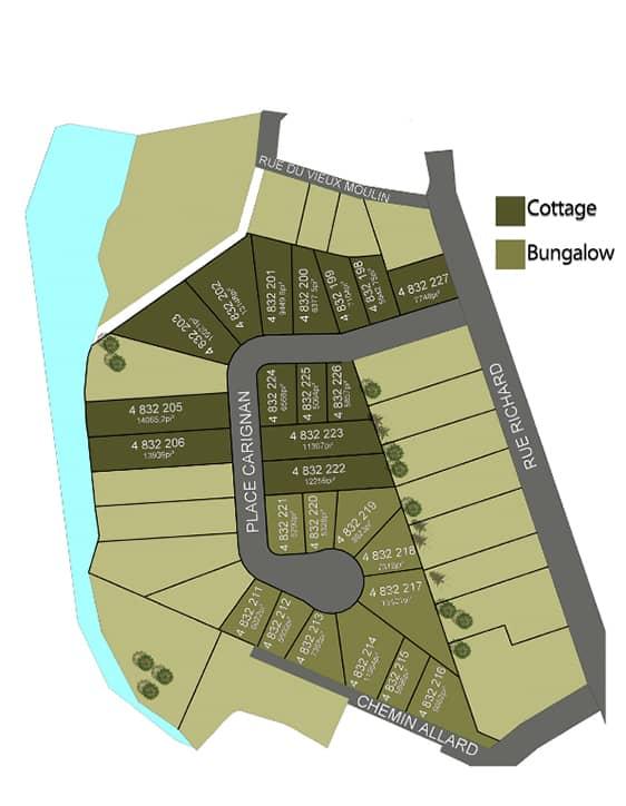 Nos plan - Urbanova - Rheault - Maisons neuves à vendre à Terrebonne
