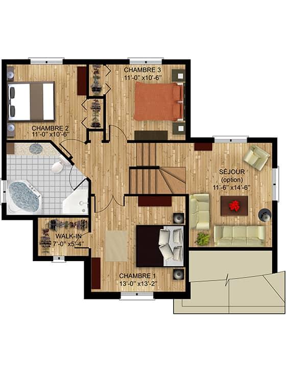 Nos Plans - Modèle Alsace - Maisons neuves à vendre à Terrebonne