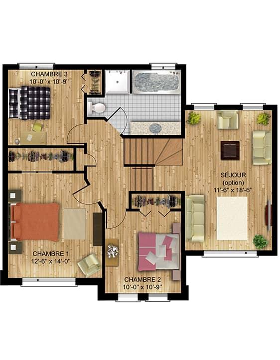 Nos Plans - Amélie - Maisons écoresponsables neuves à vendre à Lanaudière