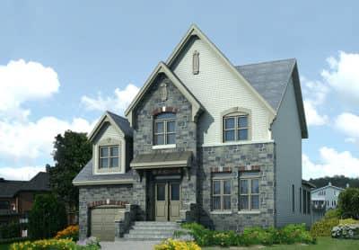 Modèle Chambly - Maisons neuves et terrains à vendre à Québec