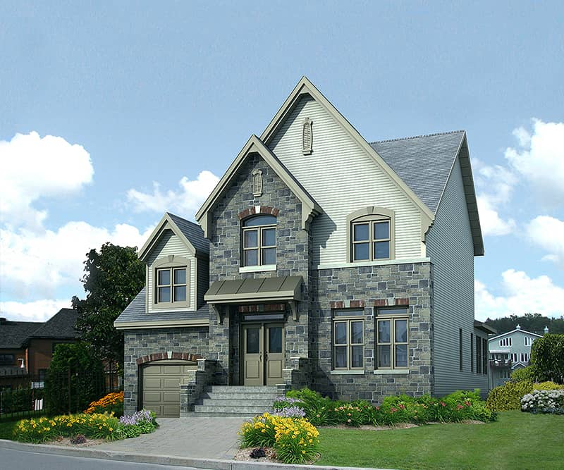 New Construction Homes Model: New Home - Chambly Model