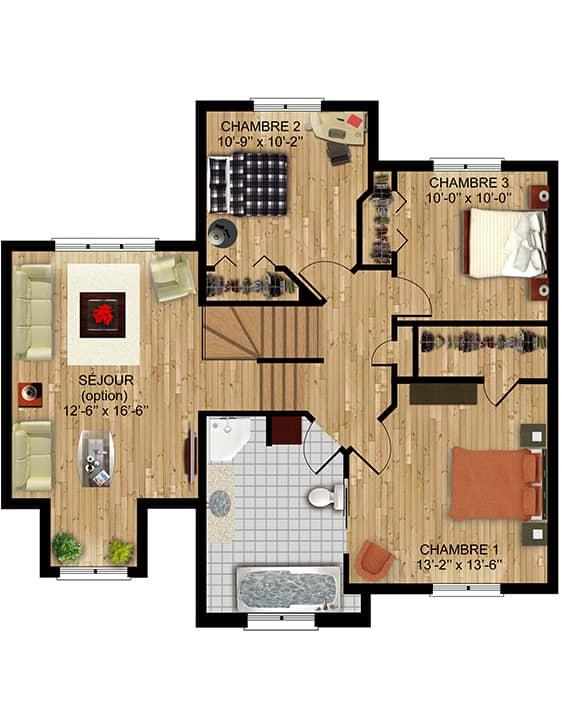 Nos Plans - Chambly - Maisons écoresponsables neuves à vendre à Terrebonne