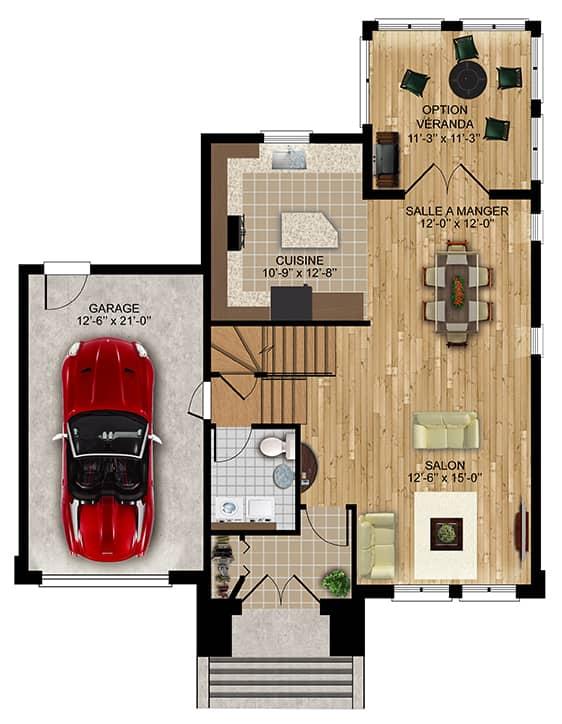 Nos Plans - Chambly - Maisons écoresponsables neuves à vendre à Lanaudière