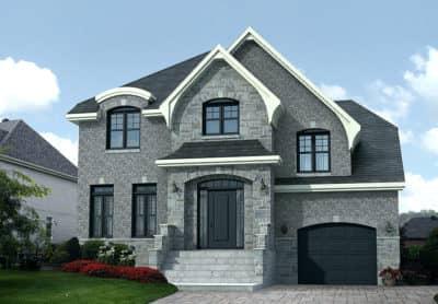 Modèle Chamonix - Rheault - Maisons neuves à vendre à Lanaudière