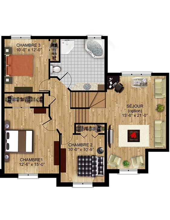Nos Plans -Chamonix - Maisons écoresponsables neuves en vente à Terrebonne