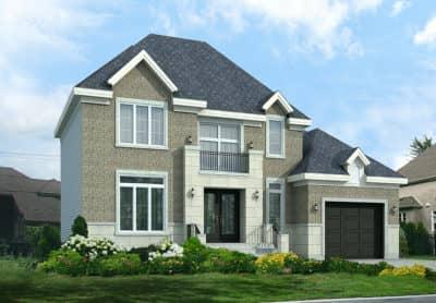 Modèle Édena - Rheault - Maisons neuves à vendre à Terrebonne
