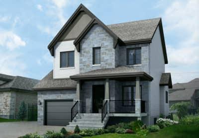 Modèle Jasmine - Maisons neuves à vendre à Terrebonne