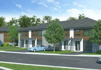 Maisons de ville neuves en vente à Lanaudière