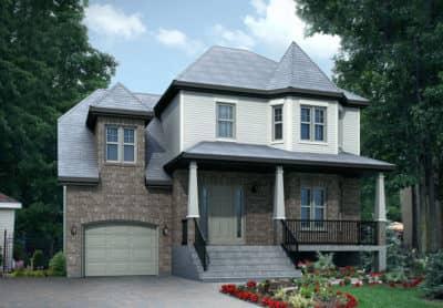 Modèle Naomie - Maisons neuves à vendre à Terrebonne