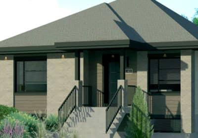 Modèle UNO - Rheault - Maisons neuves à vendre à Carignan
