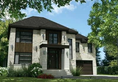 Urbaine - Maisons écoresponsables neuves à vendre à Lanaudière