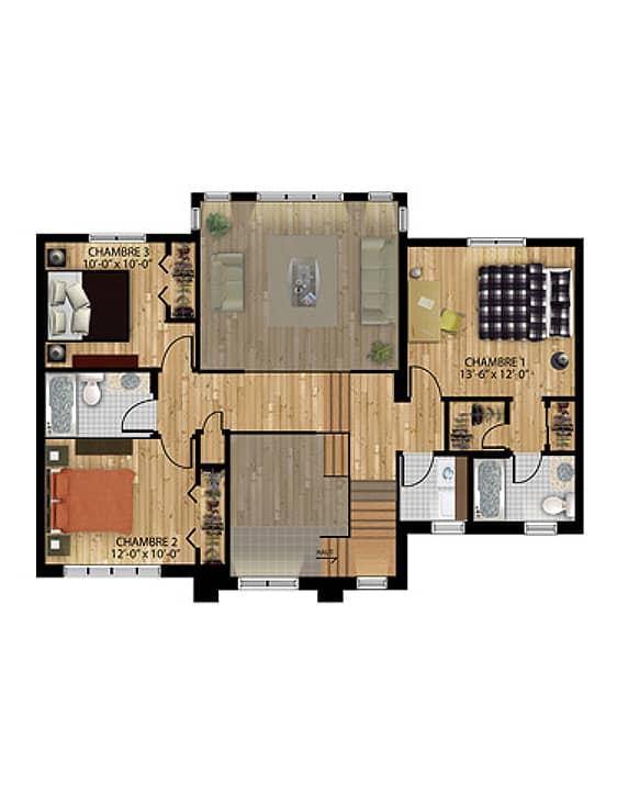Urbaine - Nos Plans - Maisons de ville neuves en vente à Terrebonne