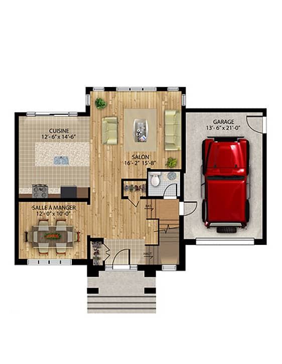 Urbaine - Nos Plans - Maisons de ville neuves en vente à Lanaudière