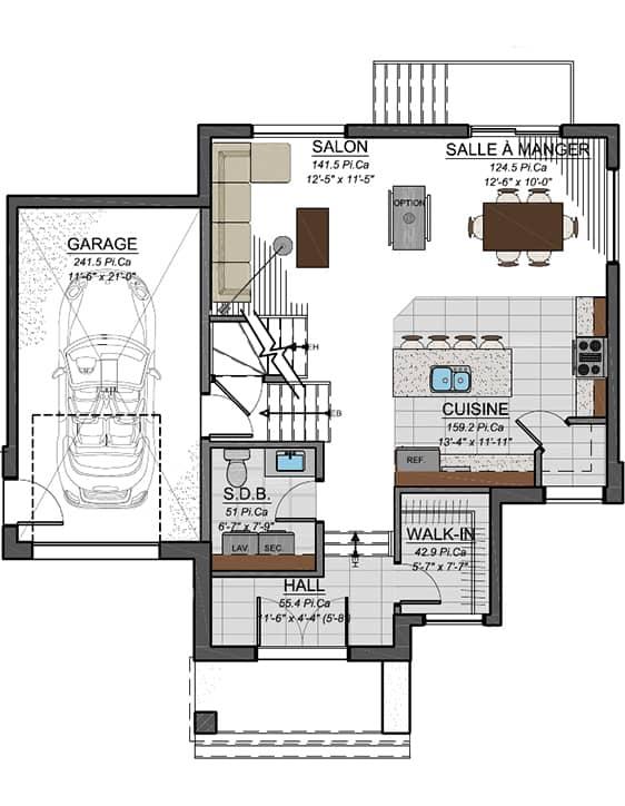 Nos Plans - Modèle Urbanova A - Maisons neuves à vendre à Terrebonne