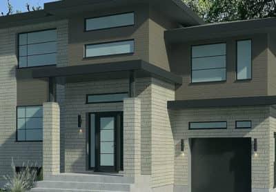 Modèle Urbanova B - Maisons écoresponsables neuves en vente à Lanaudière