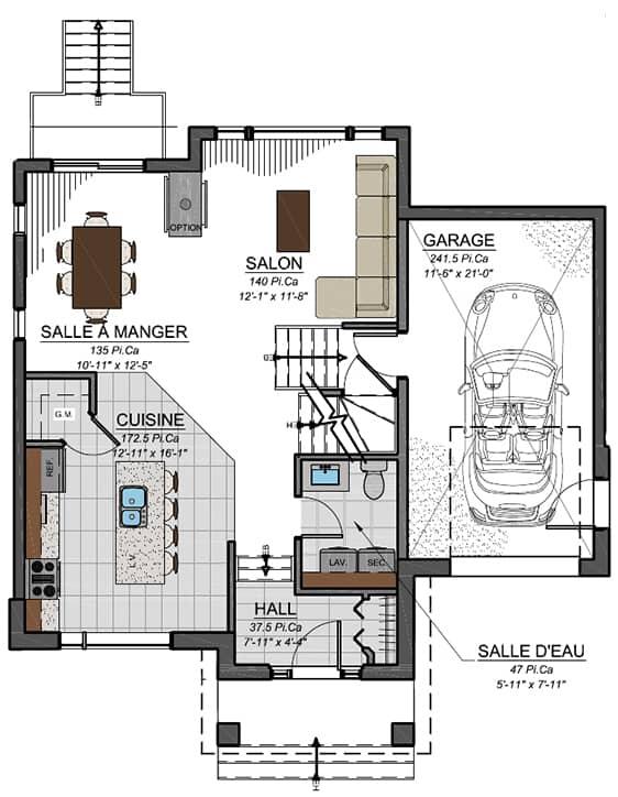 Urbanova B - Nos Plans - Maisons écoresponsables neuves en vente à Lanaudière