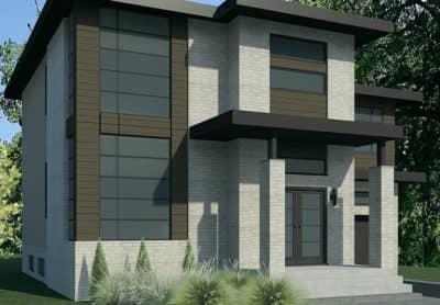 Modèle Urbanova C - Rheault - Maisons neuves à vendre à Terrebonne