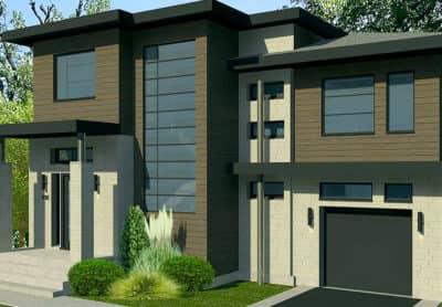Modèle Urbanova D - Maisons de ville neuves à vendre à Terrebonne