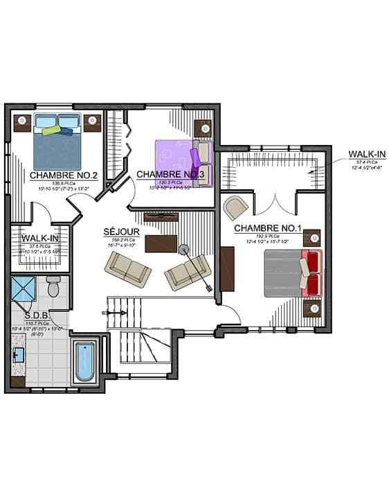 Nos Plans - Urbanova D - Maisons de ville neuves à vendre à Terrebonne