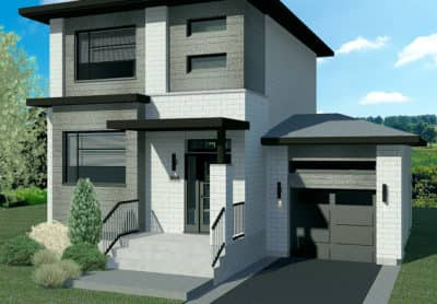 Modèle Urbanova F - Maisons de ville neuves en vente à Lanaudière