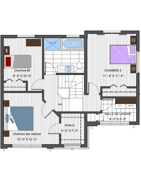 Nos Plans - Urbanova F - Maisons écoresponsables neuves à vendre à Terrebonne