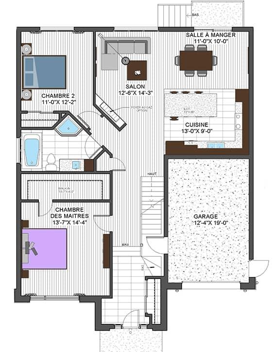 Plans Urbanova G - Maisons neuves à vendre à Terrebonne