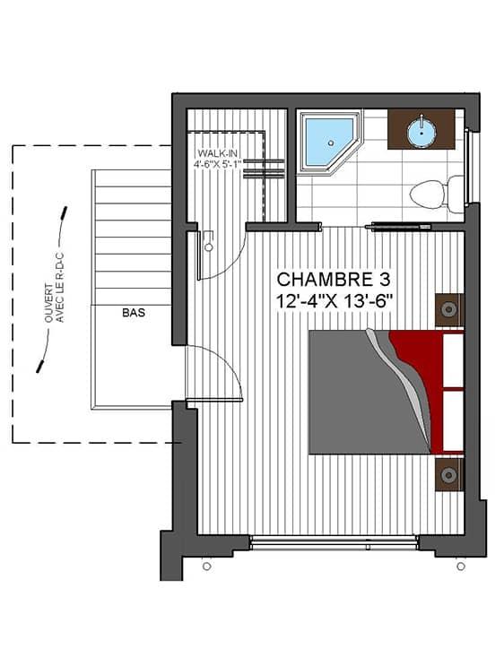 Modèle Urbanova G - Nos Plans - Maisons écoresponsables neuves à vendre à Terrebonne