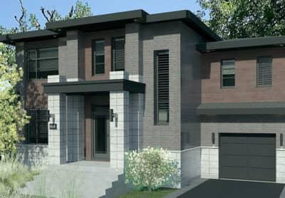 Modèle Urbanova H - Maisons écoresponsables neuves en vente à Terrebonne
