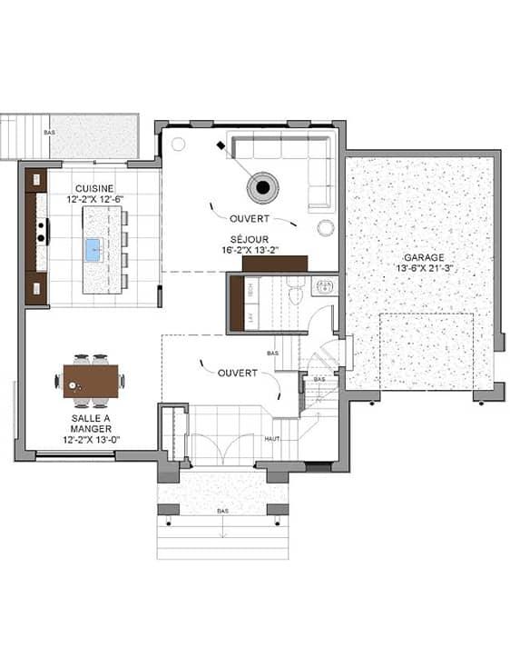 Nos Plans - Urbanova H - Maisons écoresponsables neuves à vendre à Terrebonne