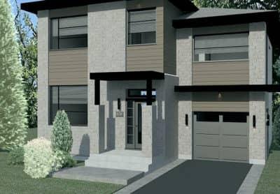 Modèle Urbanova I - Maisons neuves à vendre à Terrebonne