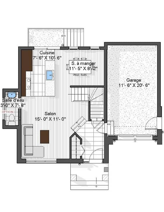 Nos Plans - Modèle Urbanova I - Nos Plans - Maisons de ville neuves en vente à Lanaudière