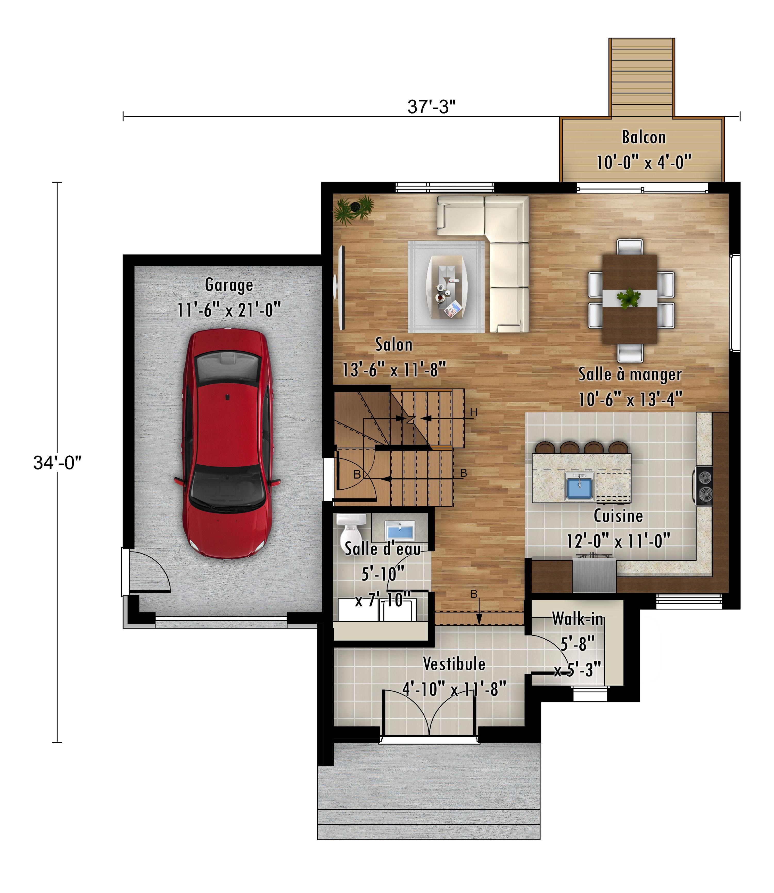 Le Cardinal - Rheault - Maisons neuves en vente à Lanaudière