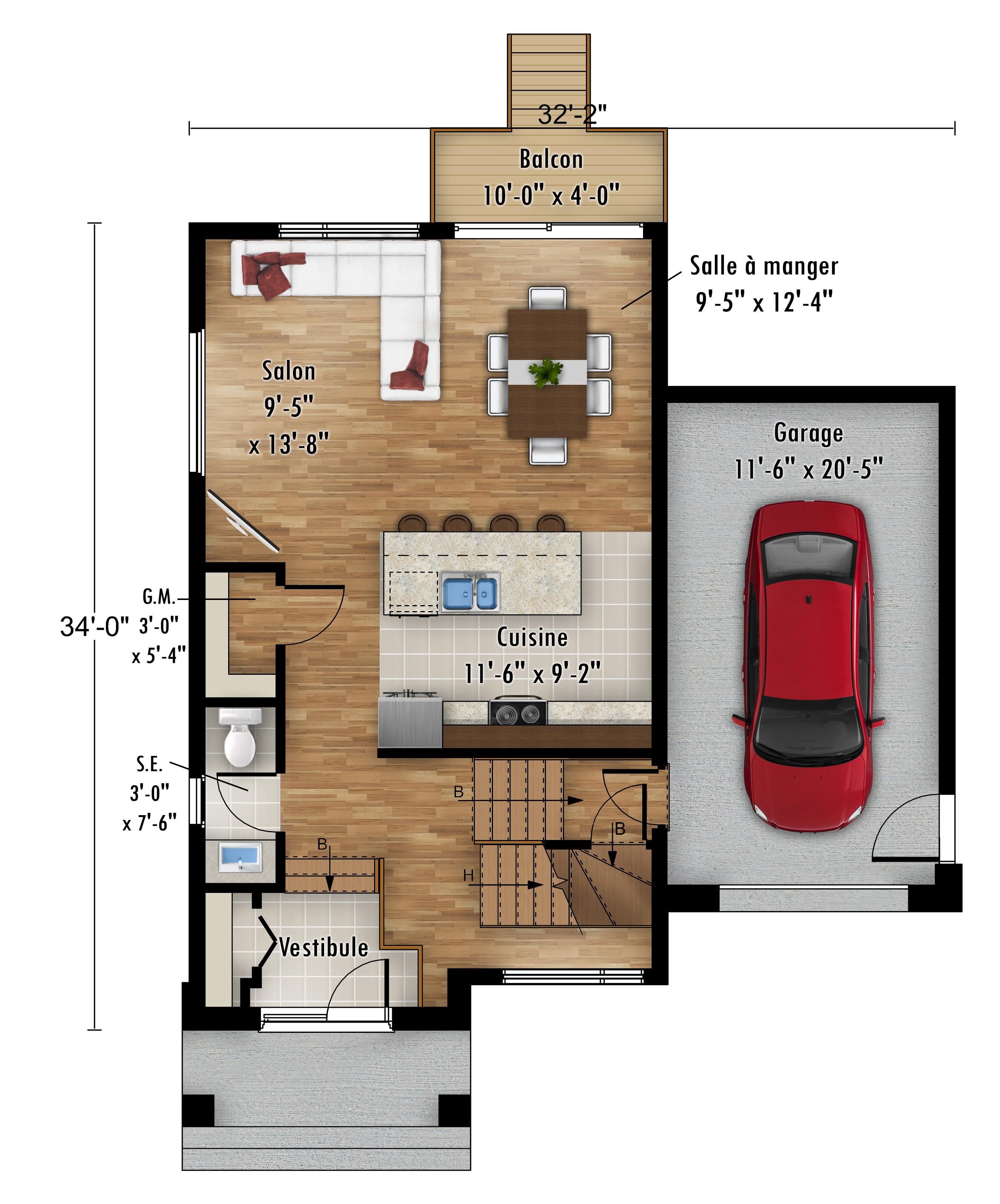 Le Sizerin - Rheault - Maisons neuves en vente à Terrebonne