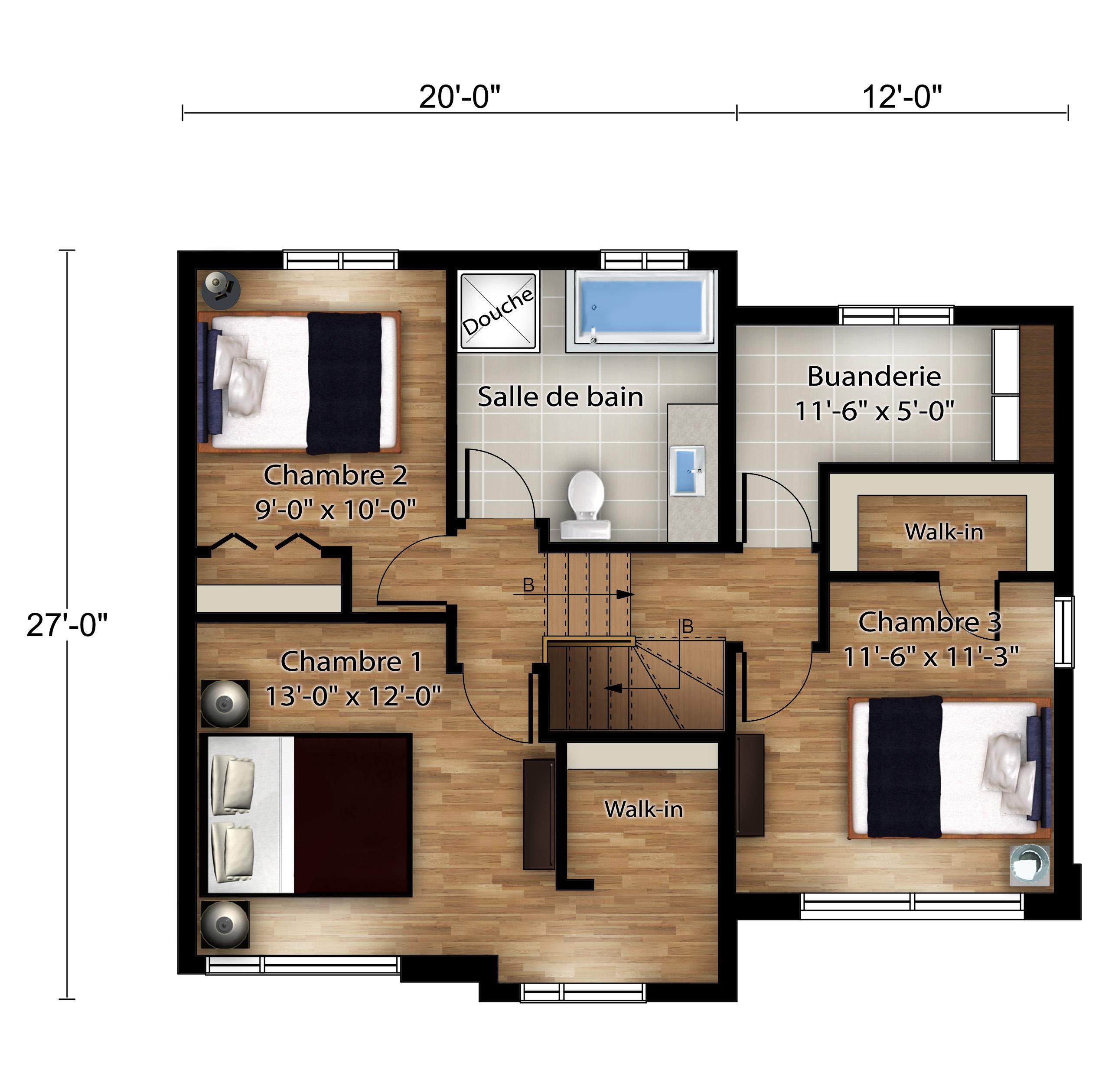 Nos plans - Nouvelles maisons neuves - Construction Rheault - Laurentides