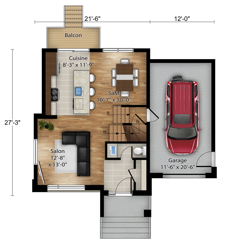 Nos plans - Nouvelles maisons neuves - Construction Rheault - Mirabel